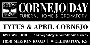 Cornejo / Day Funeral Home Advertisement