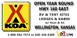 KOA Campground Advertisement