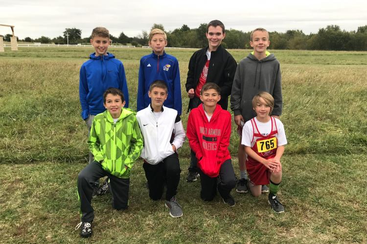 WMS 7/8 Cross Country Pioneer League